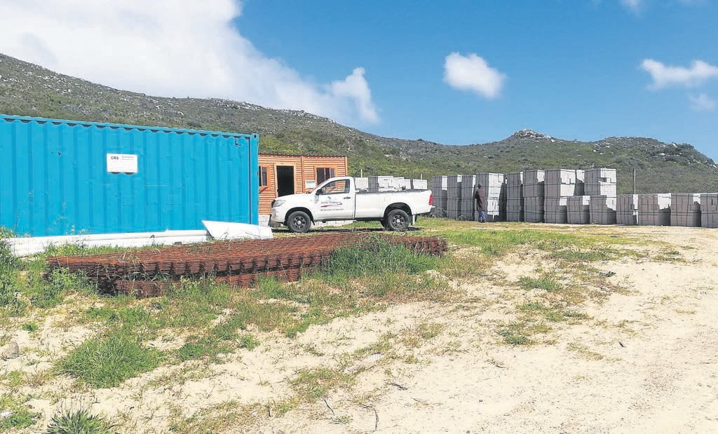 The City of Cape Town's Dido Valley development is causing a stir. Ocean View residents are sceptical of the way title deeds are awarded. PHOTO: Racine Edwardes