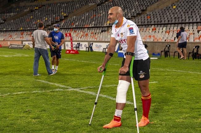 Ruan Pienaar sustained a serious knee injury