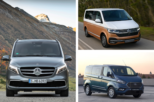 SEE | Virtually peerless V-Class rivals these two family buses in South Africa