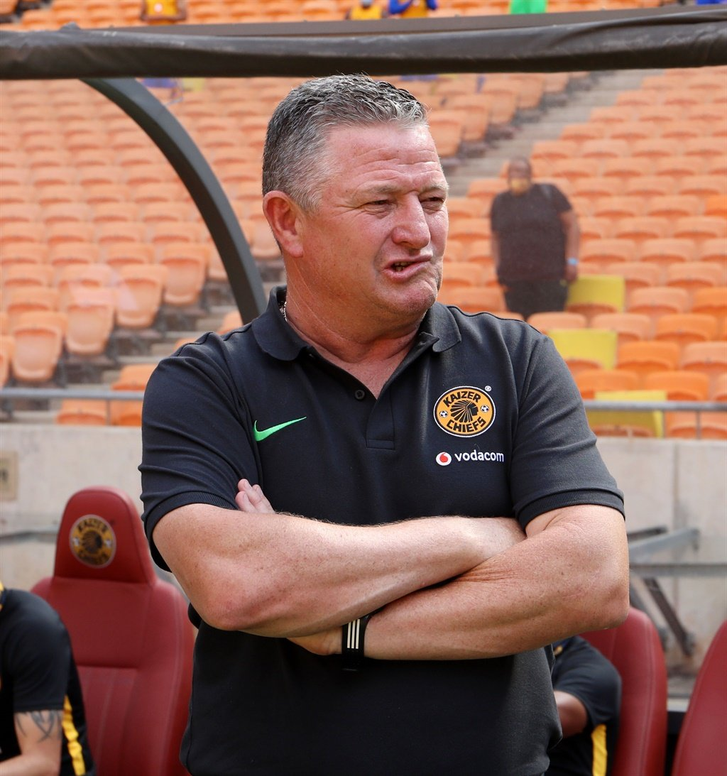Gavin Hunt, coach of Kaizer Chiefs during the 2020 MTN8 QuarterFinal match between Kaizer Chiefs and Maritzburg United at the FNB Stadium, Johannesburg on the 18 October 2020. Picture: Muzi Ntombela/BackpagePix