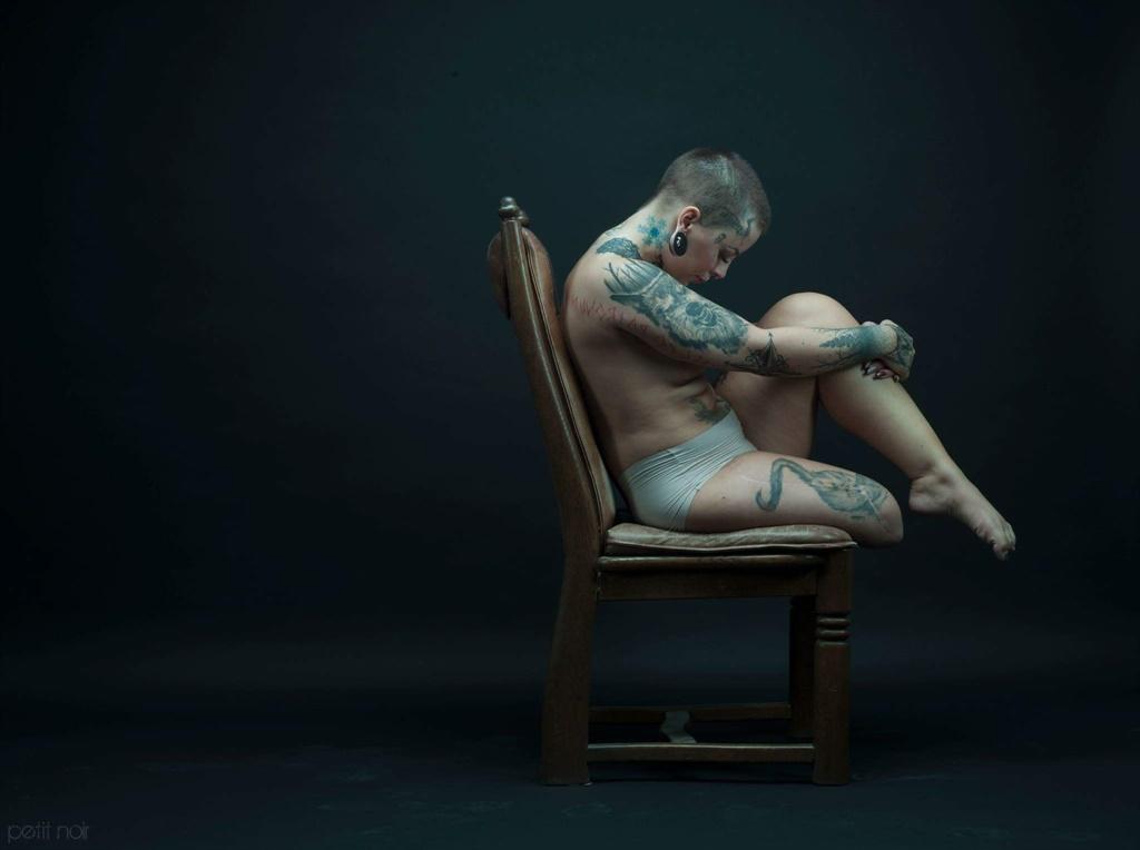cancer, amputation, tattoo, model