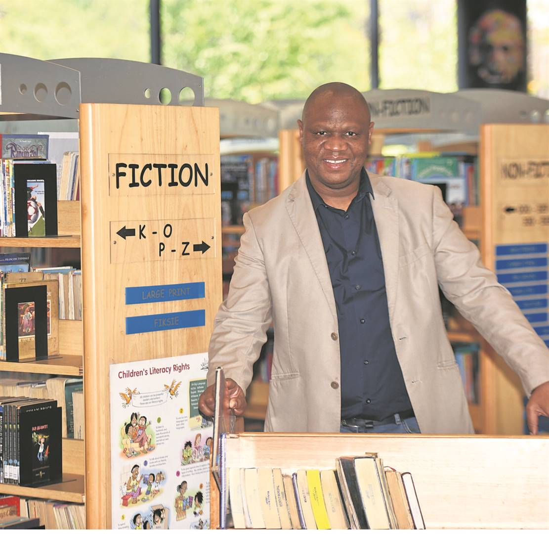 The City's director of library services, Mandla Ntombela, is leaving to join the SA Library for the Blind.PHOTO: Moeketsi Mamane