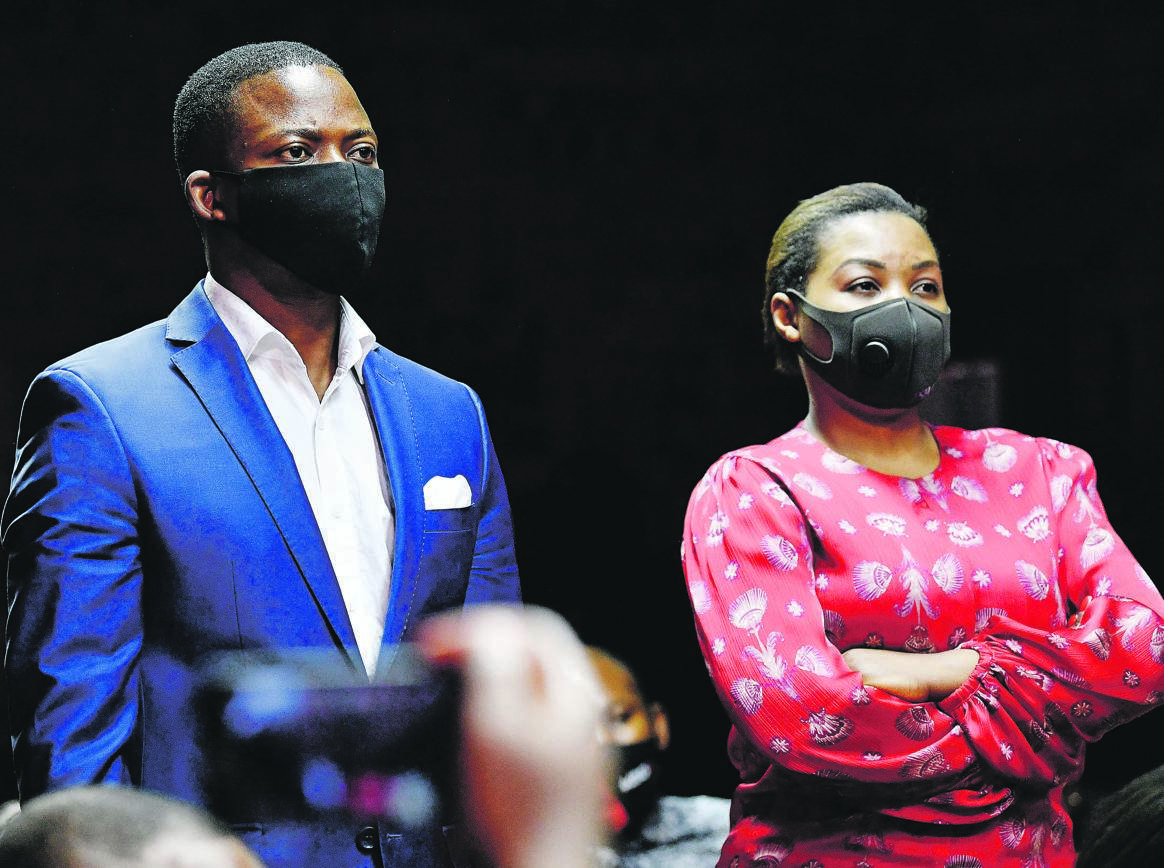 On the run Shepherd Bushiri and his wife Mary appear at the Pretoria Magistrates' Court earlier this month. The leaders of the Enlightened Christian Gathering Church face charges of fraud and money laundering, but managed to evade law enforcement authorities last week and flee to Malawi. Picture: Gallo images / Frennie Shivambu