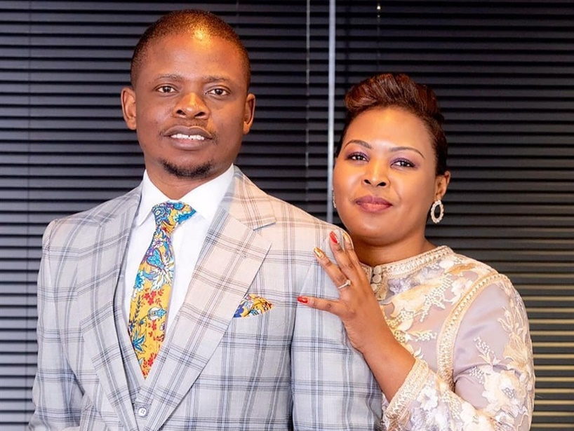 Self-proclaimed prophet Shepherd Bushiri and his wife Mary. Picture: Instagram
