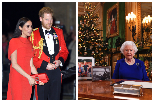 Prince Harry and Meghan Markle will not see his grandmother, the Queen, again this Christmas (Photo: Gallo Images/Getty Images)