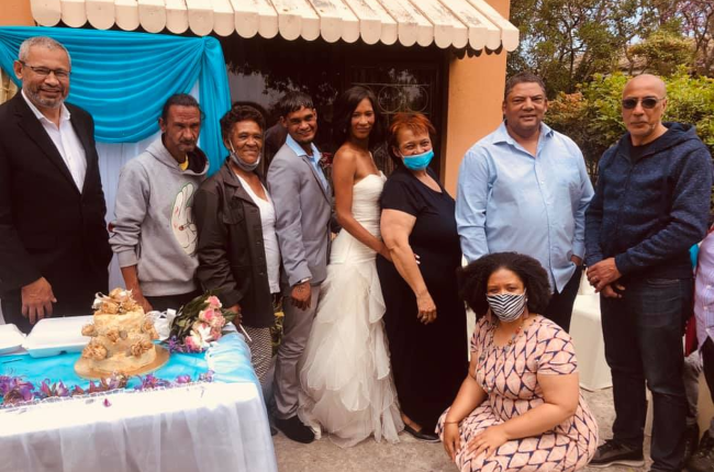 homeless couple gets married (Photo:Supplied)
