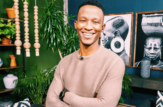 Katlego Maboe in hot water after his cheating scandal video goes viral (Photo:Supplied)
