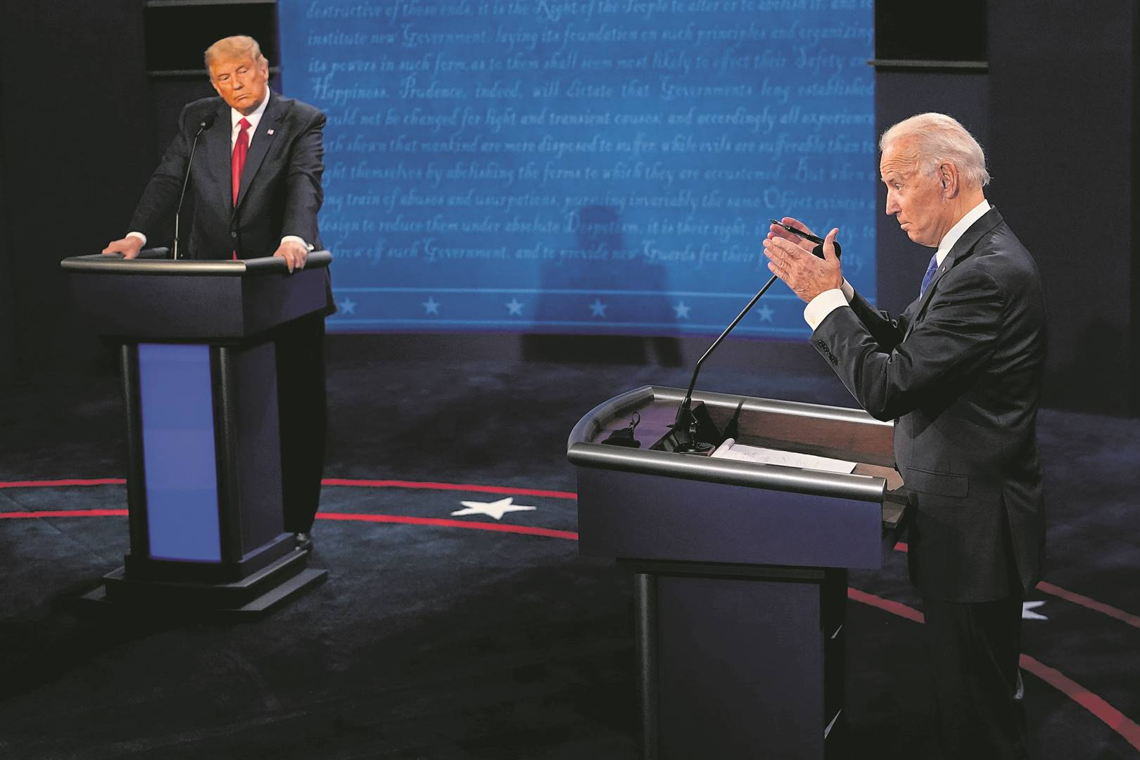A victory for incumbent Donald Trump would be a further setback in the battle against global warming, while vice-president Joe Biden has promised to prioritise the environment.