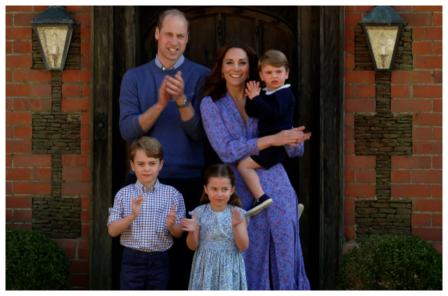 Prince William and Kate Middleton with their kids (l-r), Prince George, Princess Charlotte and Prince Louis (Photo: Gallo Images/Getty Images)