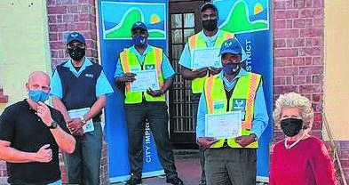 Sea Point Improvement District awarded members for their hard work and dedication during the nation wide lockdown.