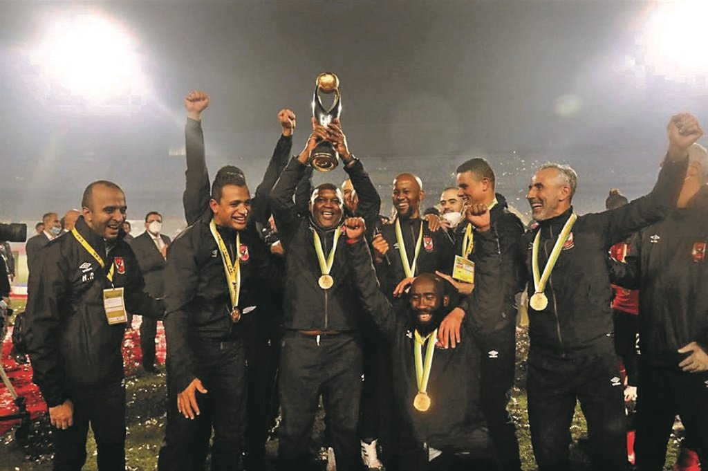 The rise and rise of Mosimane may be a harbinger of global success for SA's football prospects