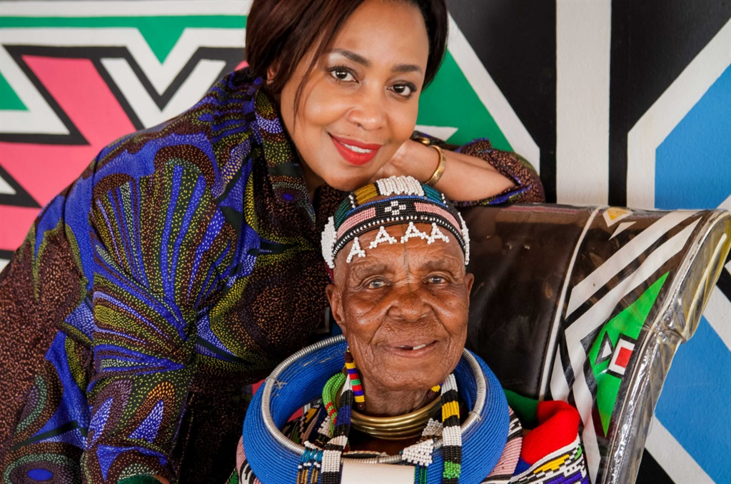 Carol Bouwer and Dr. Esther Mahlangu. (Image supplied by Atmosphere)