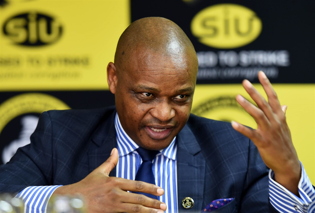 Special Investigating Unit (SIU) head Advocate Andy Mothibi.
