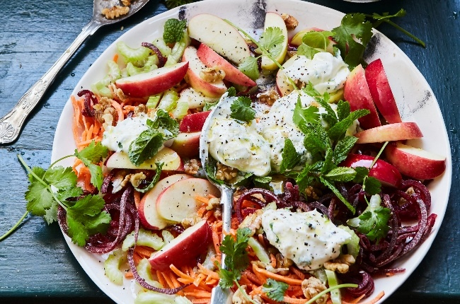 Carrot and beetroot salad. (Photo: Jacques Stander)