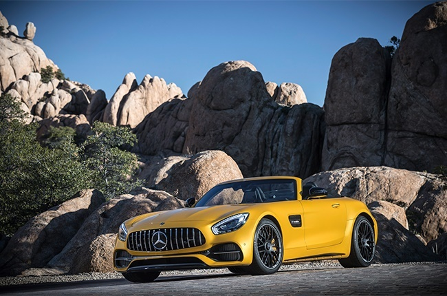 Want a droptop V8 classic? AMG GT C Roadster available at a steal on SA's used-car market