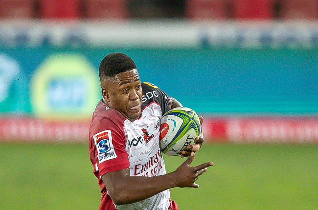 Wandisile Simelane was on fire for the Lions