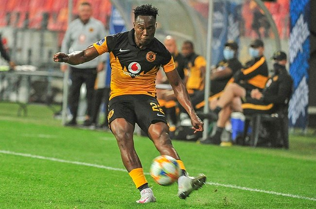 Philani Zulu of Kaizer Chiefs during the DStv Premiership match between Chippa United and Kaizer Chiefs at Nelson Mandela Bay Stadium on October 27, 2020 in Port Elizabeth, South Africa.