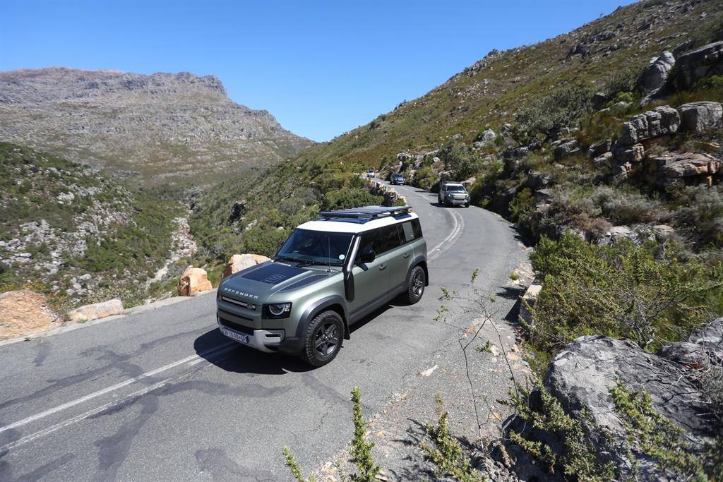 Land Rover Defender Mzansi Expedition