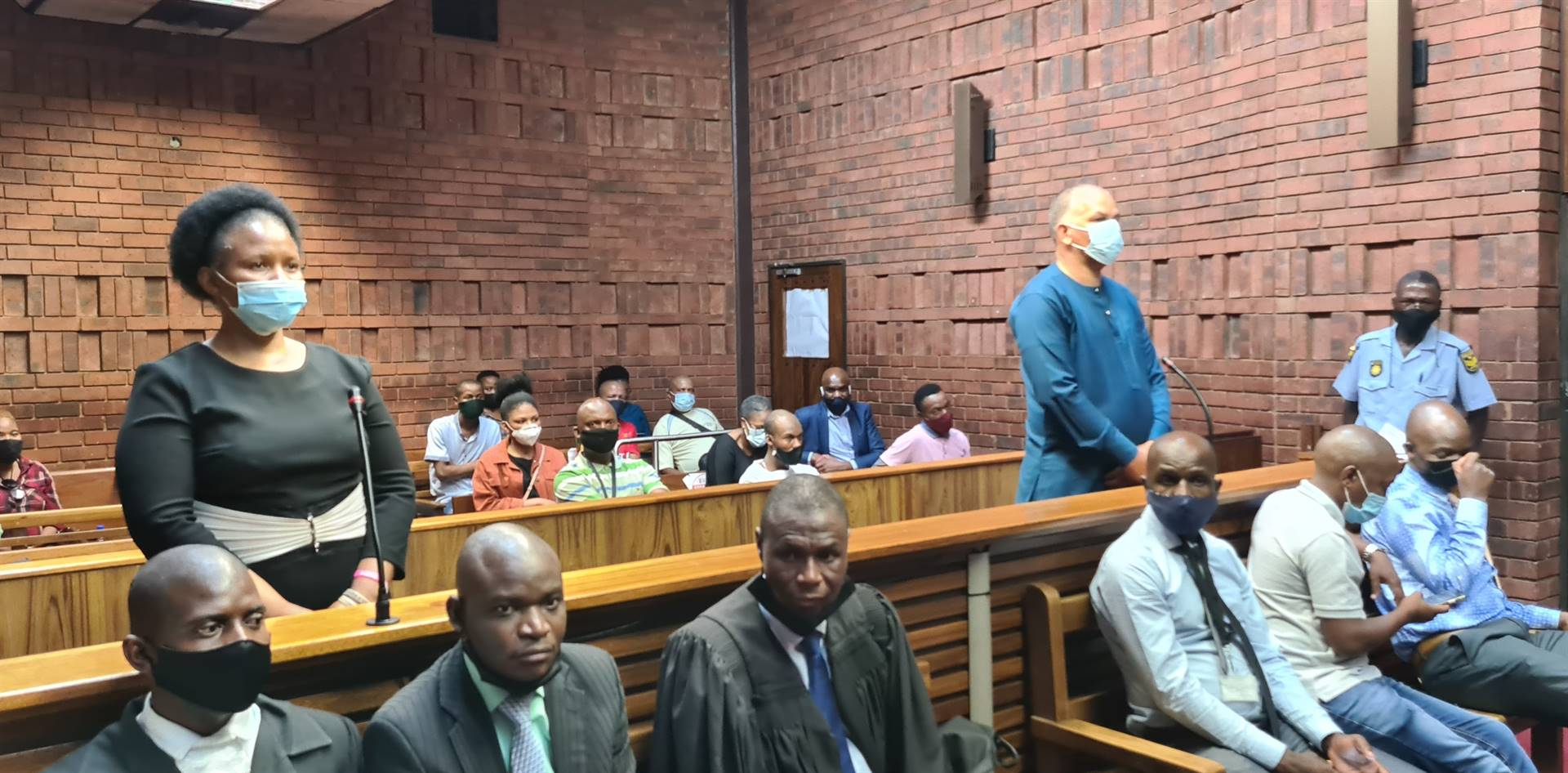 Brigadier Rosy Resandt and her husband Clifford Cornelius Resandt appeared in the Pretoria Magistrate's Court.