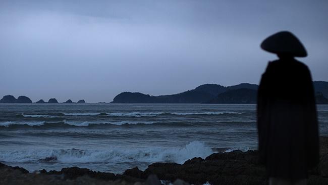 A scene from Unsolved Mysteries, Tsunami Spirits. (Photo: Netflix)