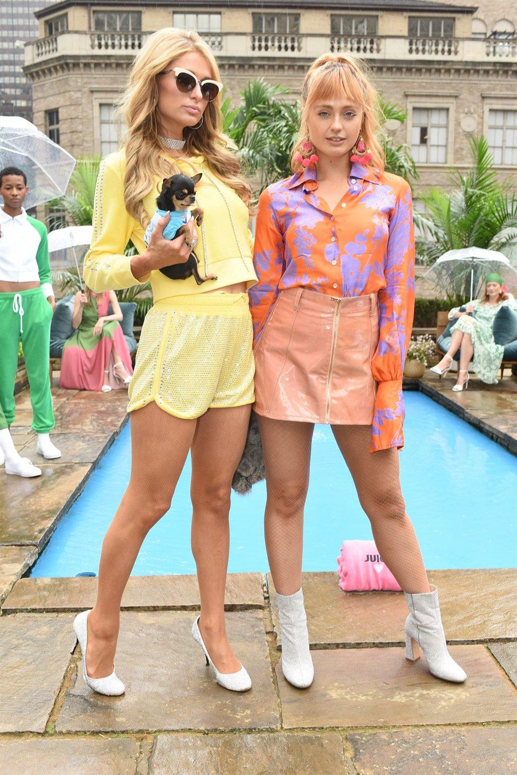 NEW YORK, NY - SEPTEMBER 13:  Paris Hilton and Bra