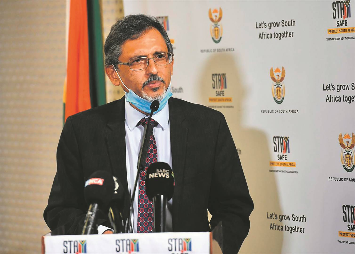 Trade and Industry Minister Ebrahim Patel.  Picture: Jairus Mmutle/GCIS