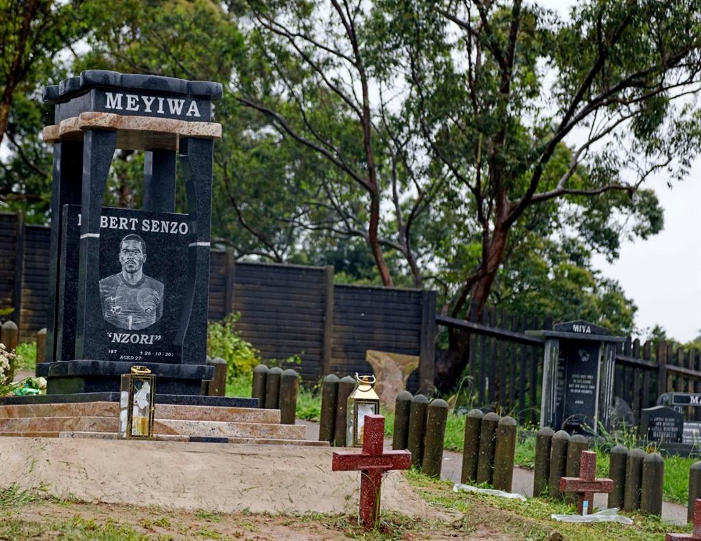 Senzo Meyiwa tombstone