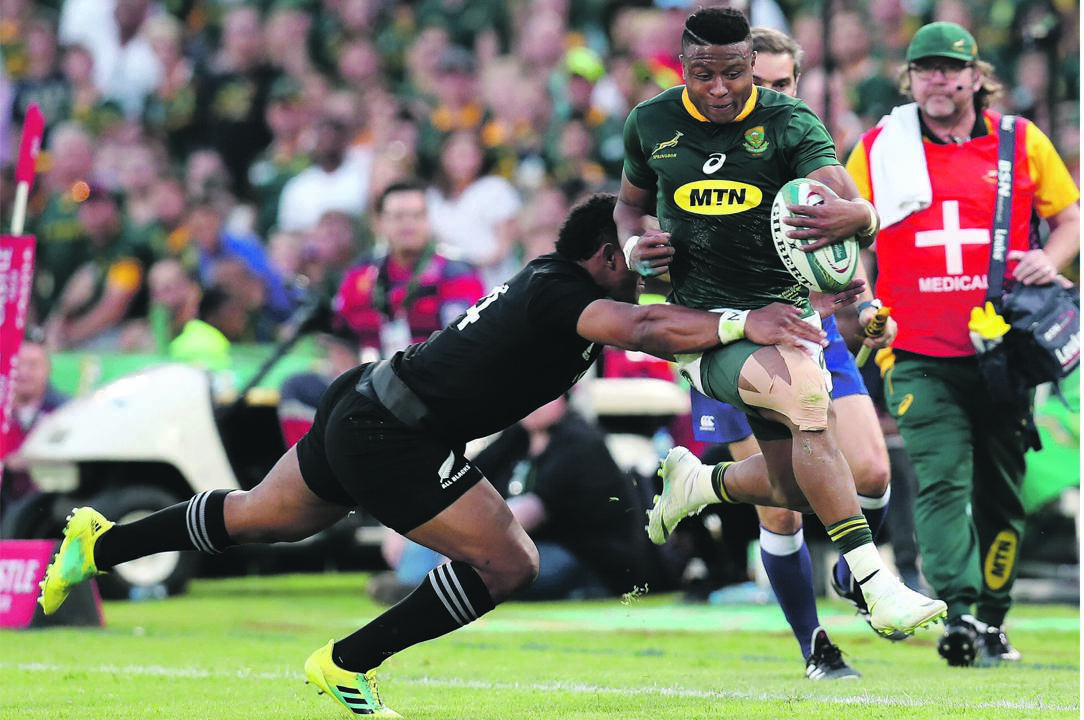 Aphiwe Dyantyi faces a lengthy ban for testing positive for banned substances PHOTO: Muzi Ntombela / BackpagePix