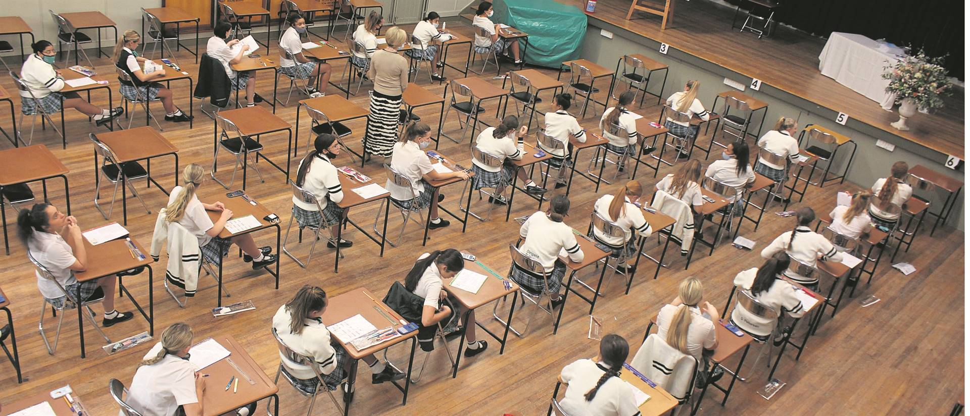 The 2020 matric exams are in full swing. (Lise Beyers)