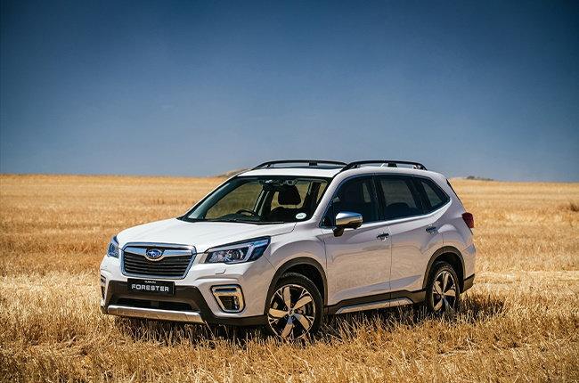 Subaru Forester: 78 units were sold in October 2020