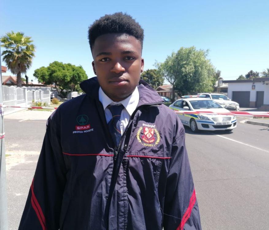 Siya Ntuntuwana. (Photo: Tammy Petersen)