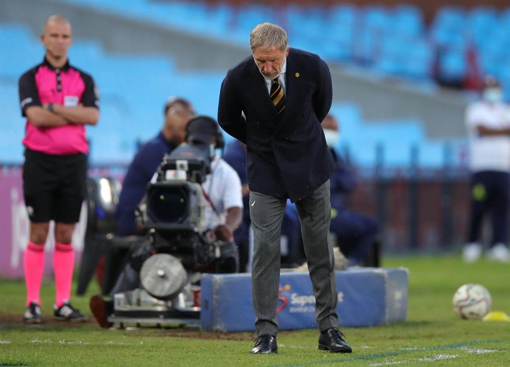 Stuart Baxter, coach of Kaizer Chiefs during the D
