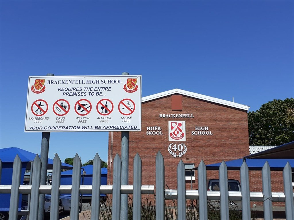 Brackenfell High School will be the scene of protesting on Friday, the EFF says.