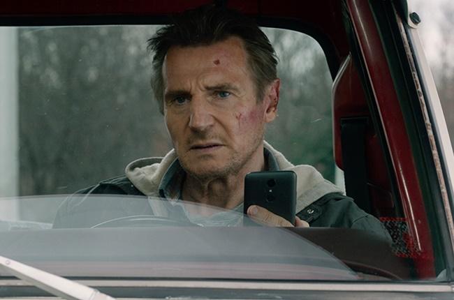 Liam Neeson in Honest Thief.