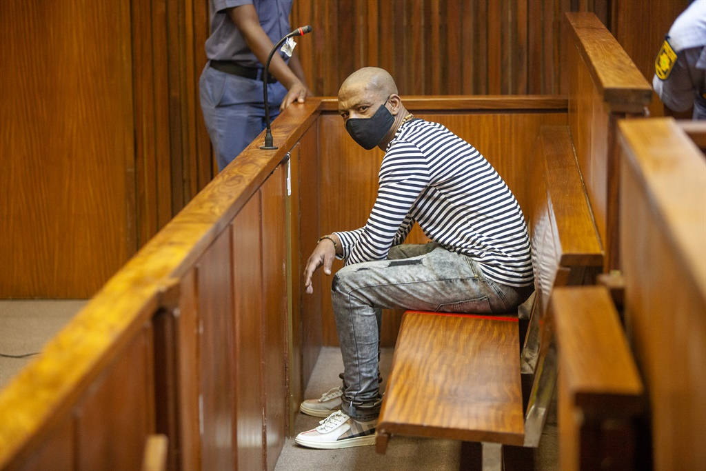 Dumisani Mkhwanazi, the man standing trial for the alleged murder of UJ student Palesa Madiba in 2013. (Papi Morake, Gallo Images)