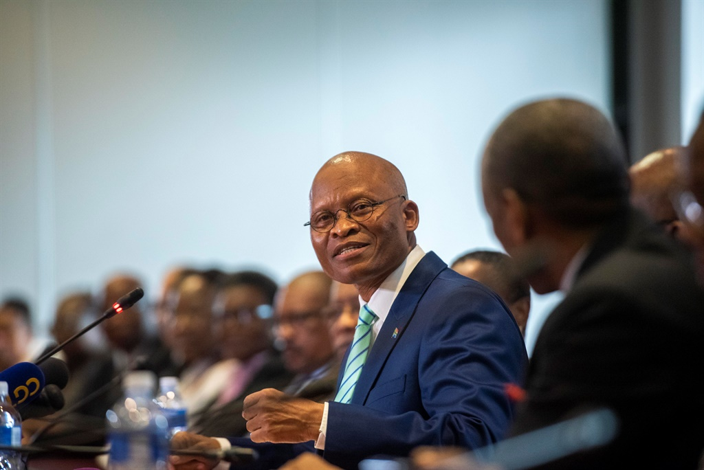 Chief Justice Mogoeng Mogoeng heads up the JSC.