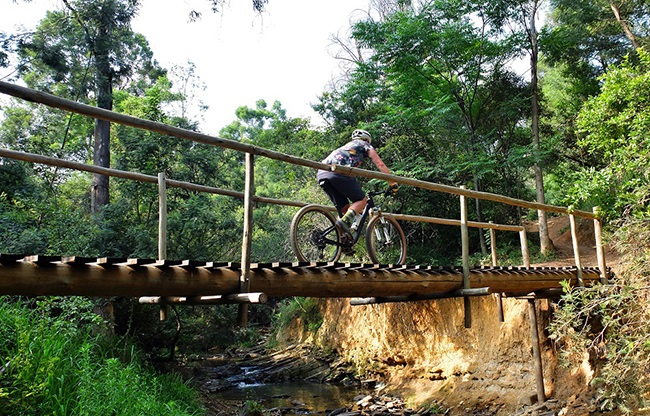 There are some brilliant mountain bike trails, right next to the N1 highway in Pretoria.  (Photo: Reuben van Niekerk)