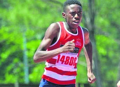 Zola Sokhela of Sweetwaters is set to compete against the world's best young runners.