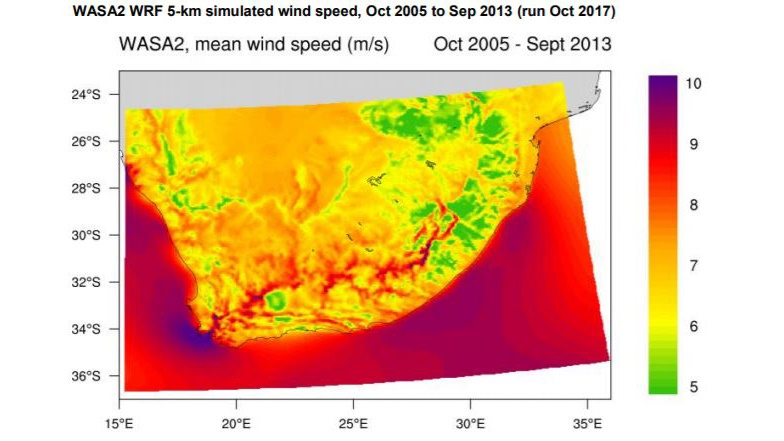 wind atlas south africa