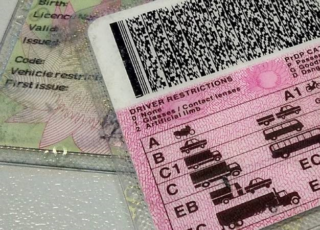 A driver's licence. Image: Duncan Alfreds