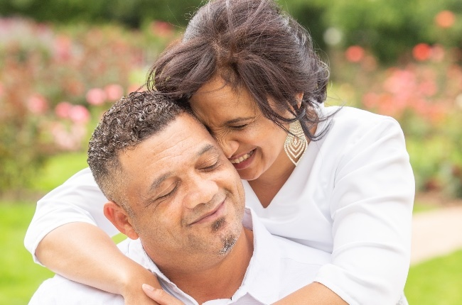 Morné and Celeste Nurse have tied the knot and finally found peace. (Photo: Misha Jordaan)