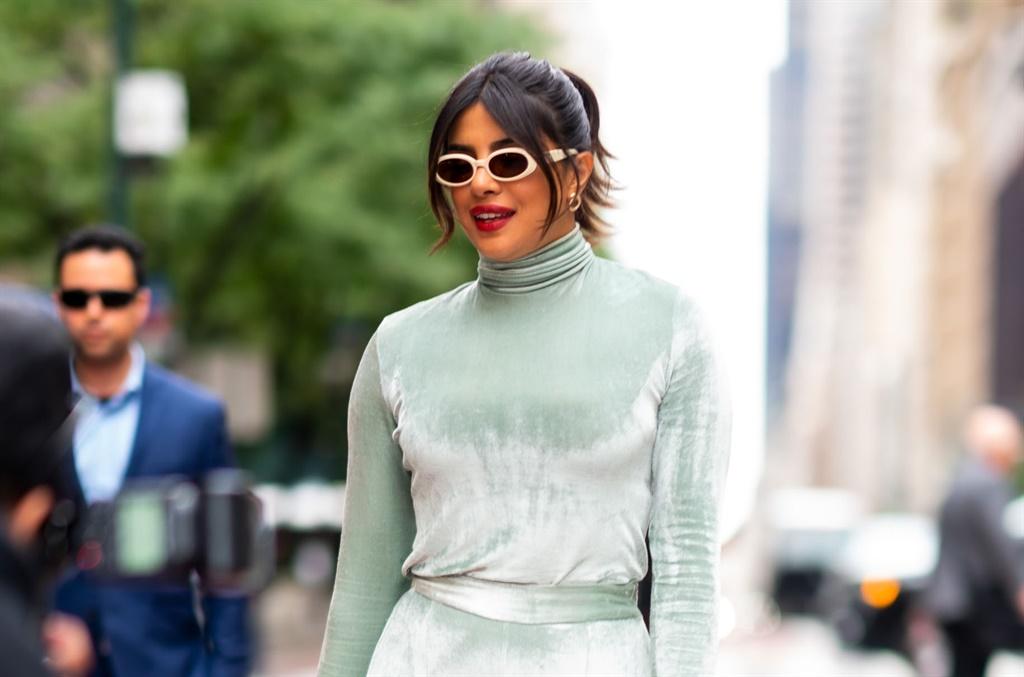 Priyanka Chopra Jonas is seen in Midtown on 8 October 2019 in New York City. (Photo by Gotham/GC Images)