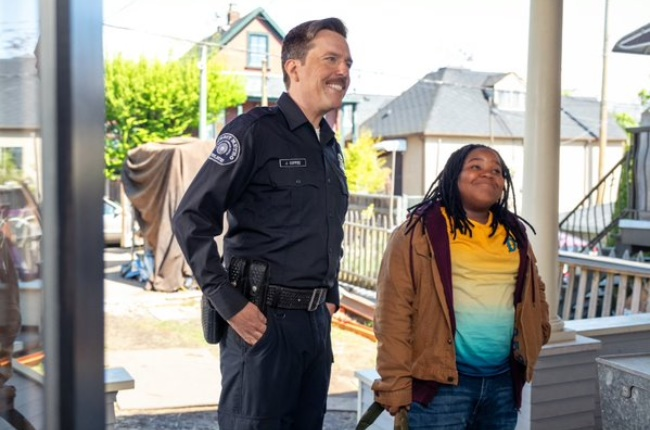 12-year old Kareem (Terrence Little Gardenhigh) is  furious that his mom is dating a goofy white cop, James Coffee (The Hangover's Ed Helms)