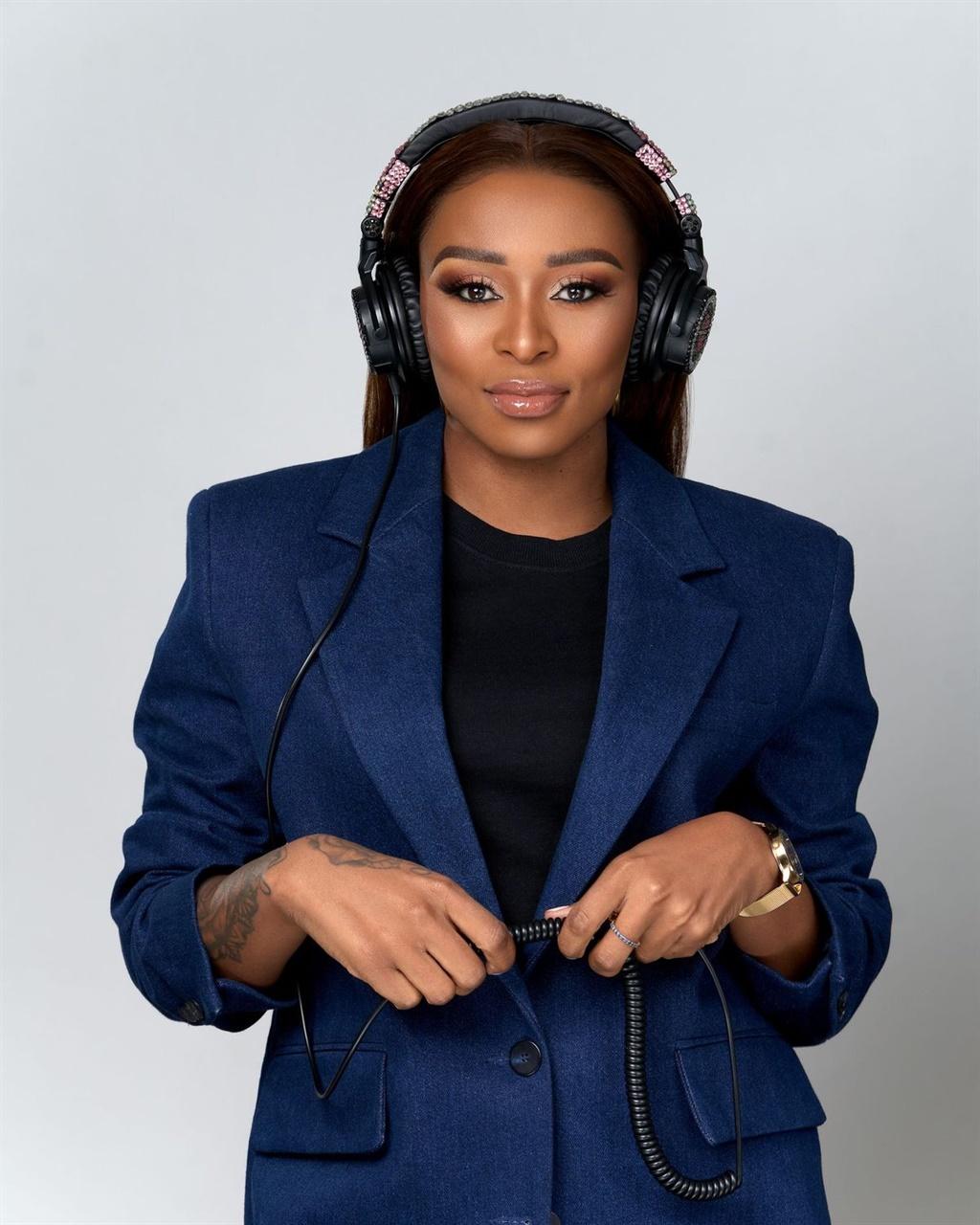 DJ Zinhle will soon launch an eyewear line. Picture: Sheila Afari (SAG)
