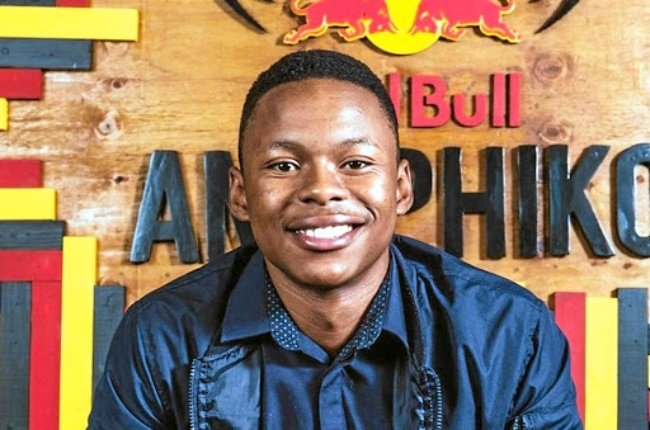 The co-founder of Matric Live, Lesego Finger, who was nominated as LeadSA Hero for designing the app at the age of 19. (PHOTO: FACEBOOK/LESEGO FINGER)