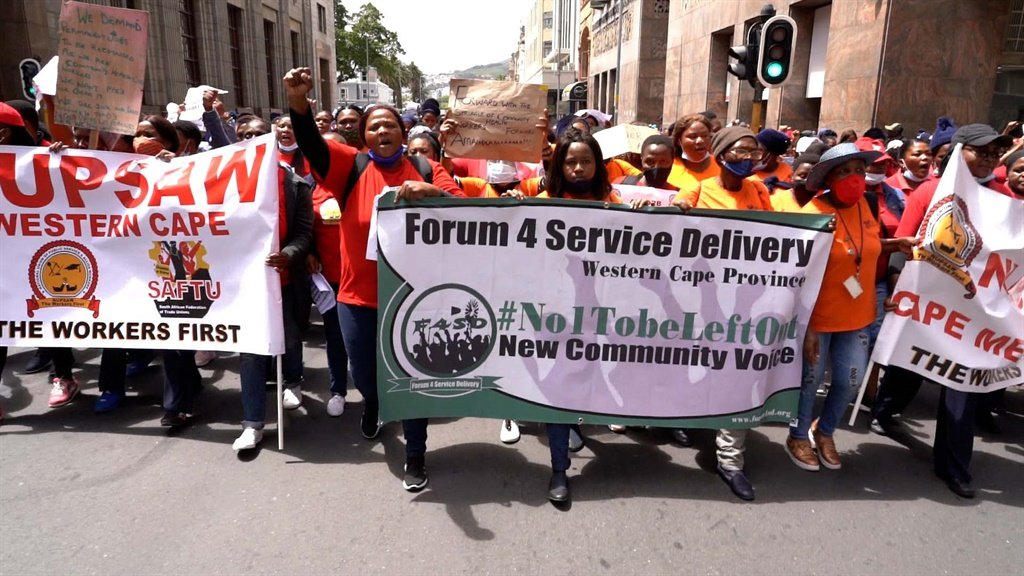 WATCH | 'We are not recognised': Healthcare workers protest pay and working conditions - News24