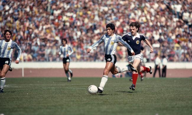 Diego Maradona (Photo by Mark Leech/Getty Images)