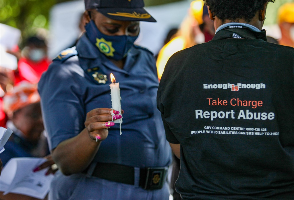 The Gauteng Provincial Government launched its 16 days of activism for no violence against women and children at the Dotothy Nyembe Park on November 25. Picture: Gallo Images/Sharon Seretlo