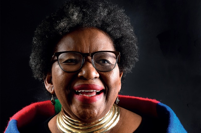 As she prepares to turn 70, Dorah Sitole has released a new cookbook, charting her four-decade career. PICTURE: ROELENE PRINSLOO