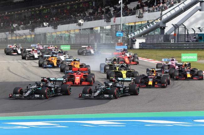 2020 Formula 1 cars
